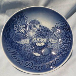 B & G Denmark Mothers Day 1995 Blue Plate DC19
